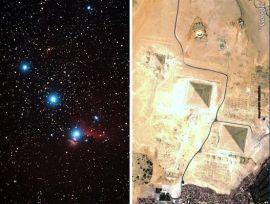 Semelhanças entre as Pirâmides