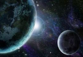 Planeta Azul visto do espaço