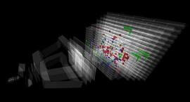 Controle de computador mostra colisão com energia de 13 TeV