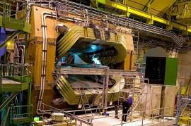 O detector de partículas LHCb